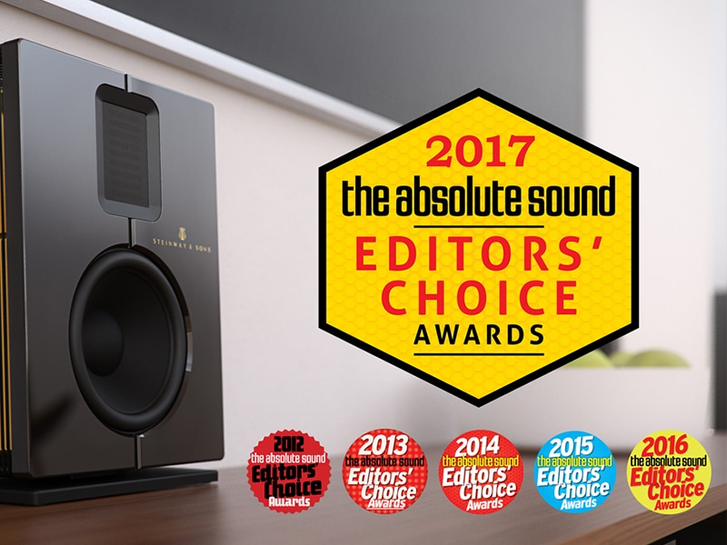 Steinway & Sons Model S honored The Absolute Sound 2017