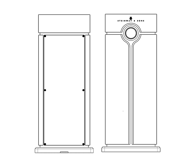 Technical drawing of Head Unit processor
