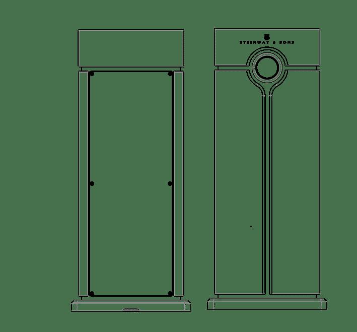 Technical drawing of Head Unit processor