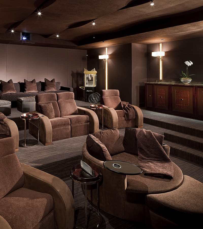 Home theater with Model LS 3