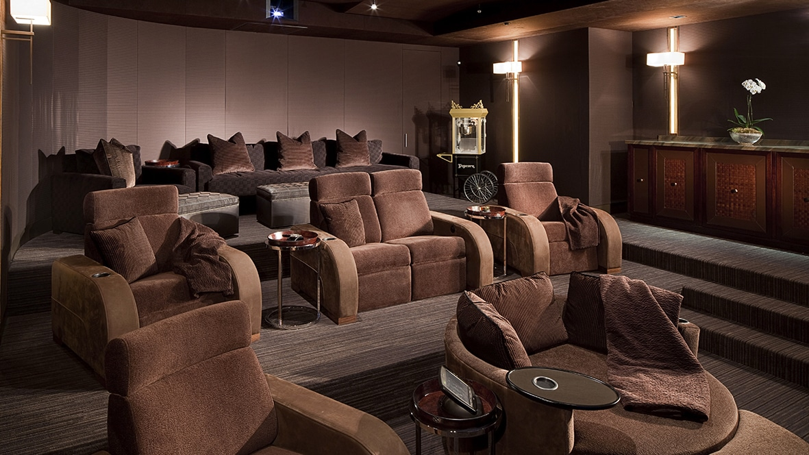 Home theater with Model LS