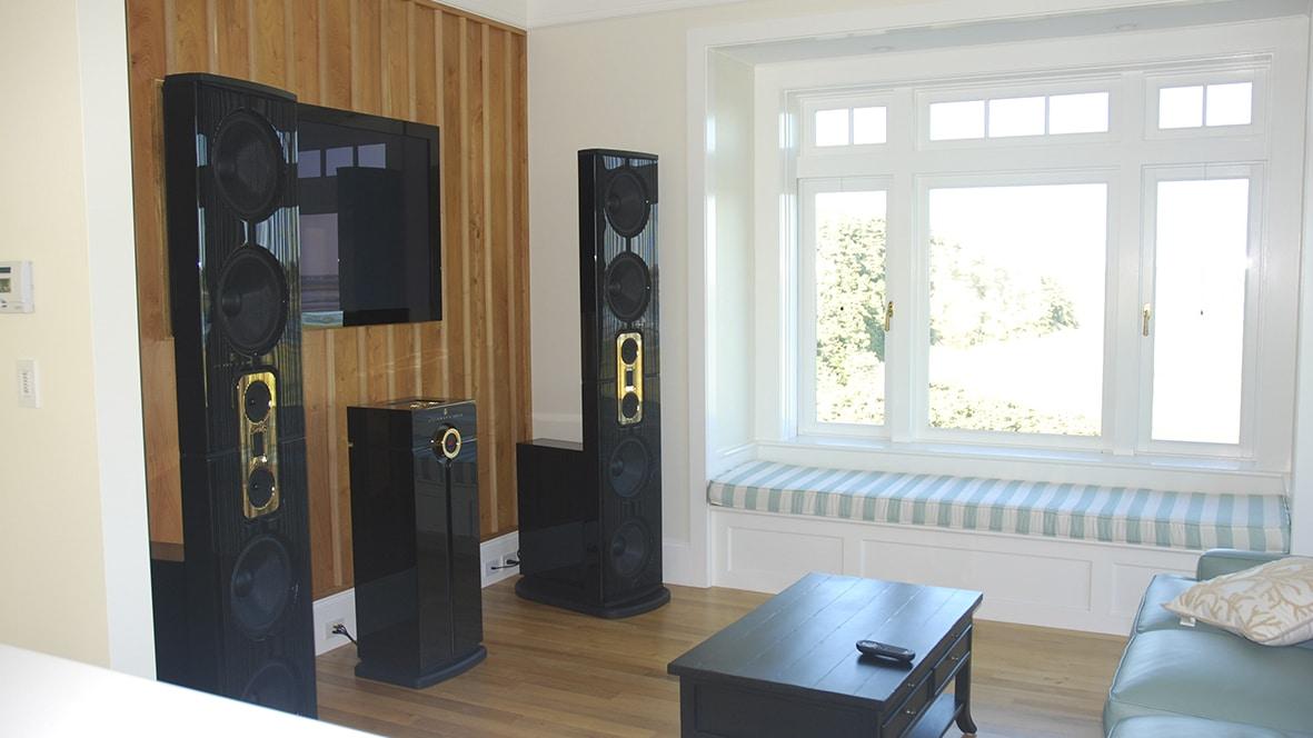 Model D in living room