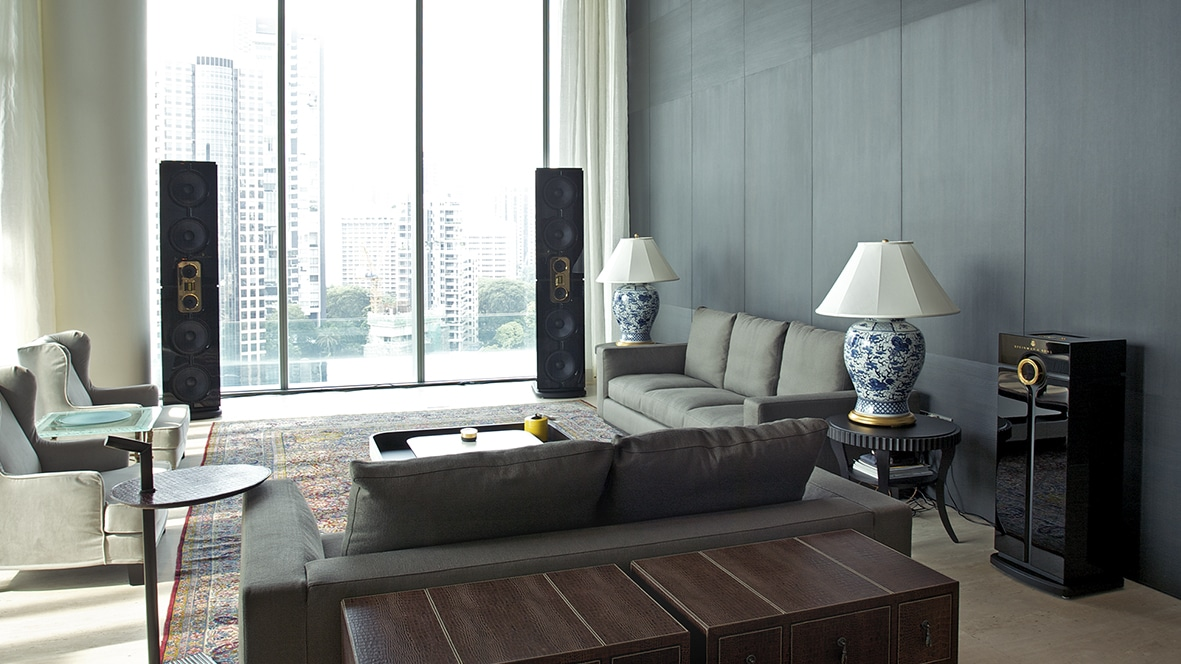 Luxurious penthouse apartment with Model D