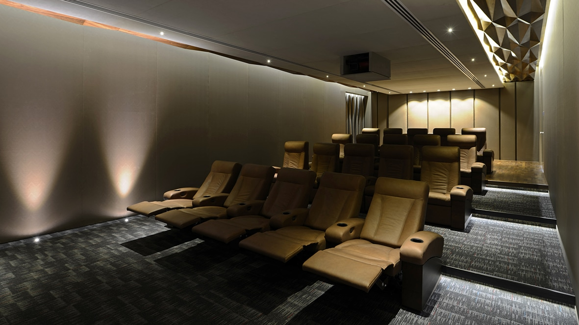 Home theater with Model LS and IW in Mumbai City 2