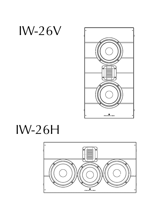 Model IW-26VH technical drawing