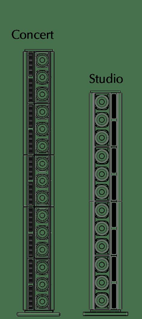 Model LS l/r technical drawing