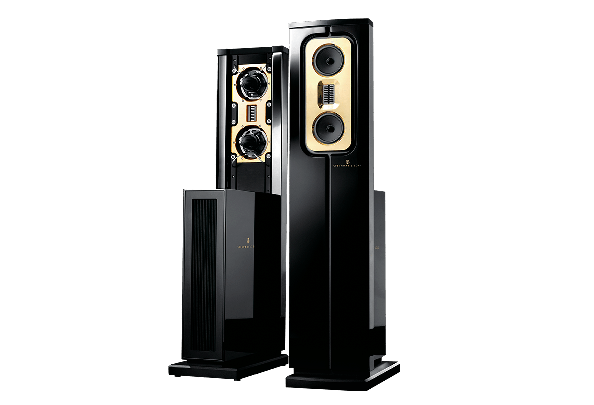 Model C speakers front and back