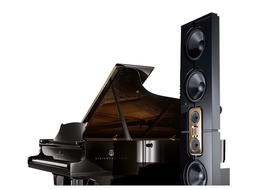 Model D and Steinway & Sons piano