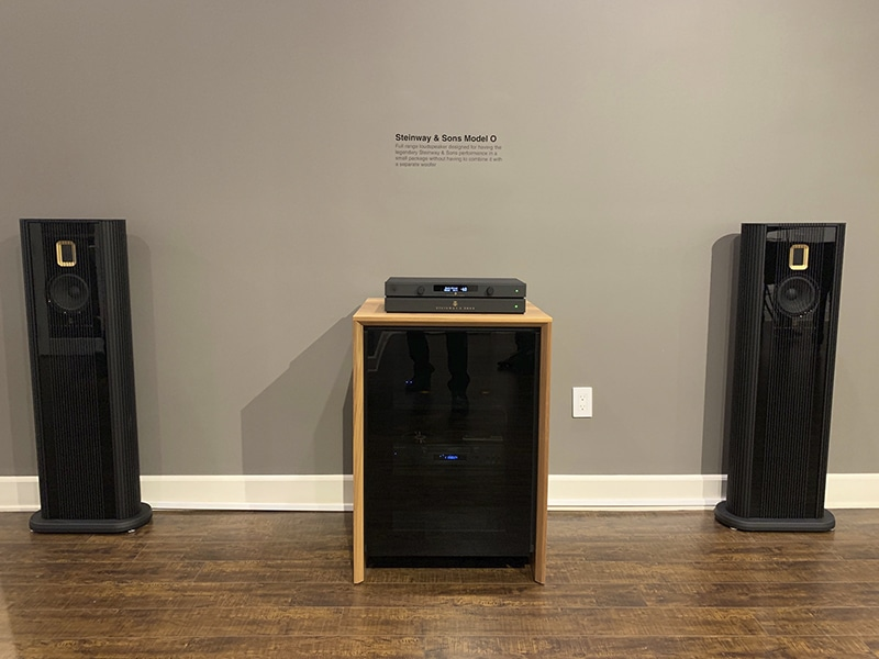 Model O speaker system at Woodys Home