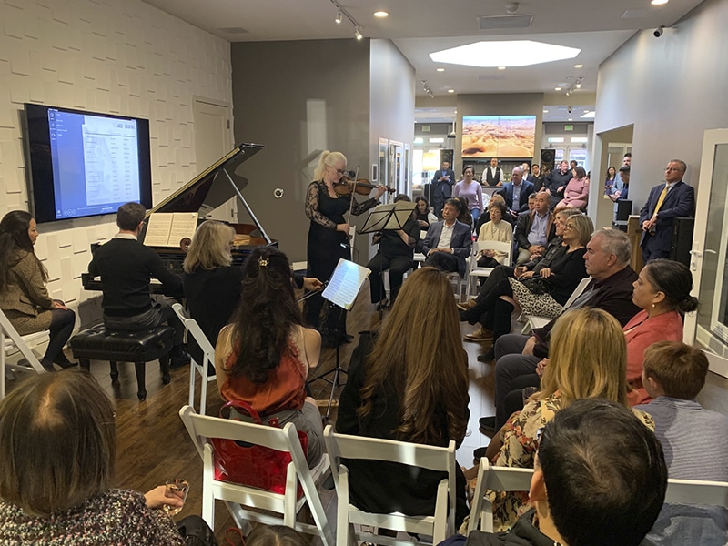 Steinway event at Woodys Home