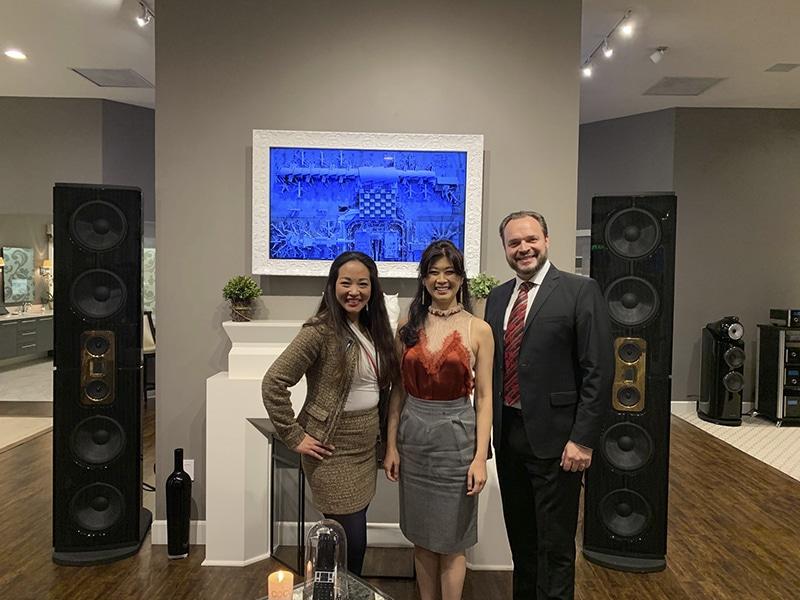 Model D speakers at Woodys home