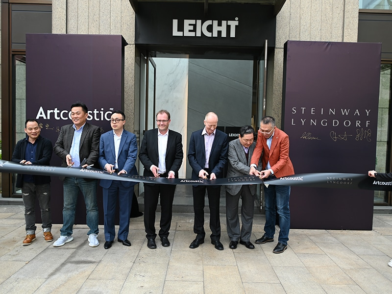 New Steinway showroom by Home Integration