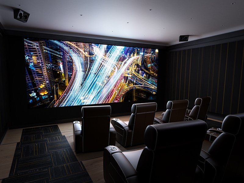 The ultimate cinema experience with new X speakers