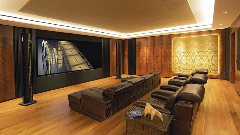 LS center home cinema