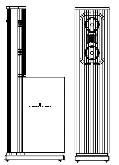 Technical drawings for Model C