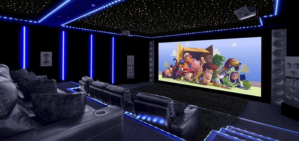 Nigels home theater