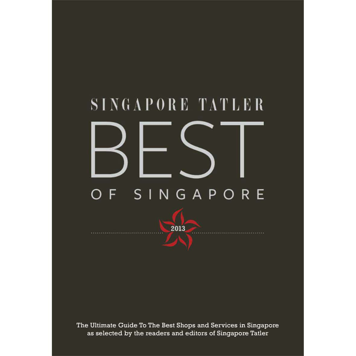 Singapore tatler award for S-15