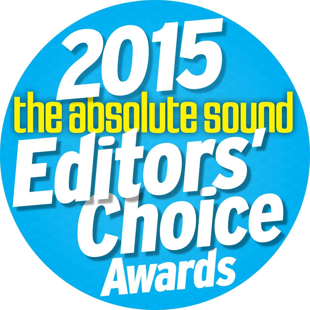 Editors choice award 2015 for S-15