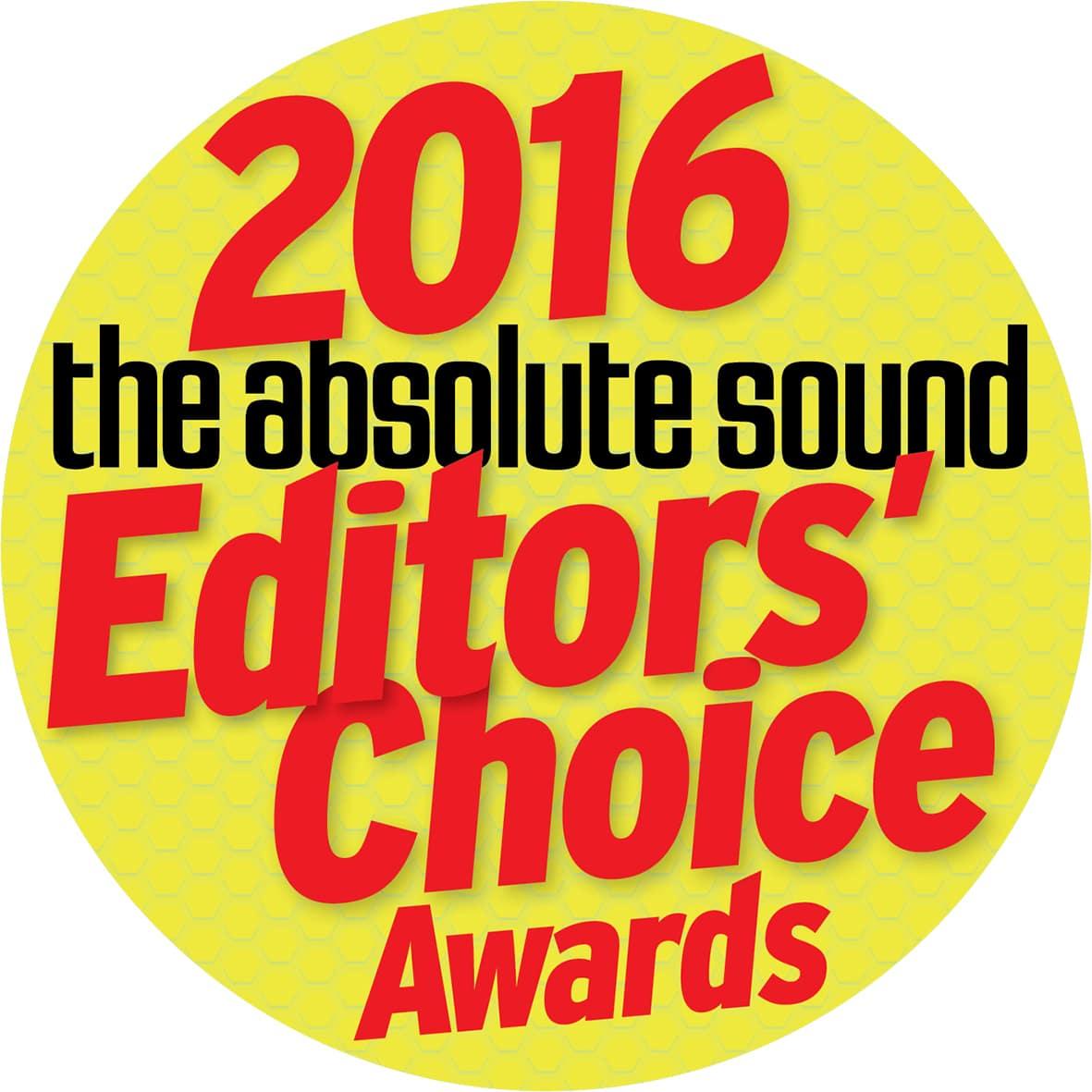 Editors choice award 2016 for S-15